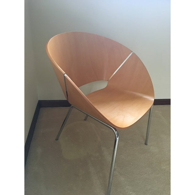 Wolfgang C.R. Mezger Lipse Chairs - Set of 6 For Sale - Image 4 of 10