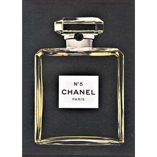 vintage Chanel perfume print