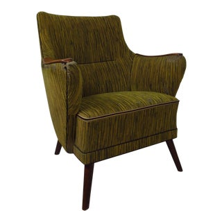 Mid-Century Mogens Lassen Style Lounge Chair For Sale