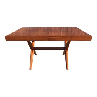 Robsjohn -Gibbings Style Walnut Dining Table