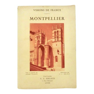 Montpellier, France, 1930 Travel Guide For Sale