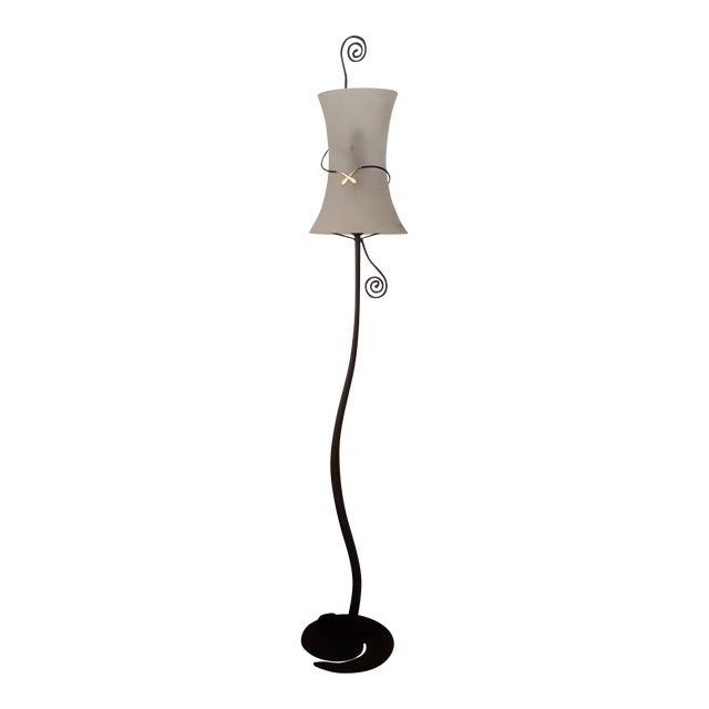 Murano Italy Signed Lipprarni Floor Lamp - Image 1 of 7