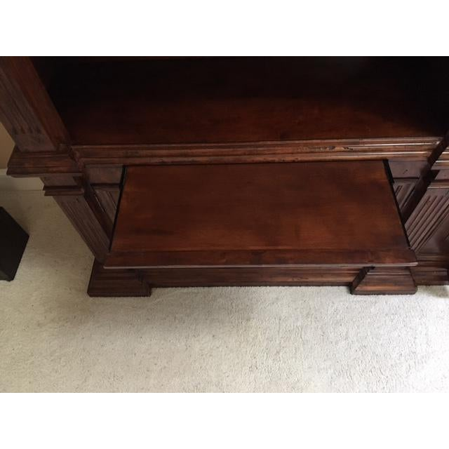 Lighted Library Wall Unit For Sale In Raleigh - Image 6 of 8