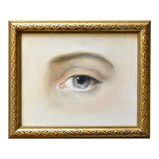 Contemporary Lover's Eye Painting by Susannah Carson For Sale
