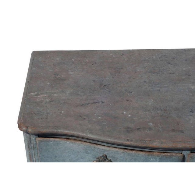 Swedish Rococo Commode For Sale - Image 4 of 6