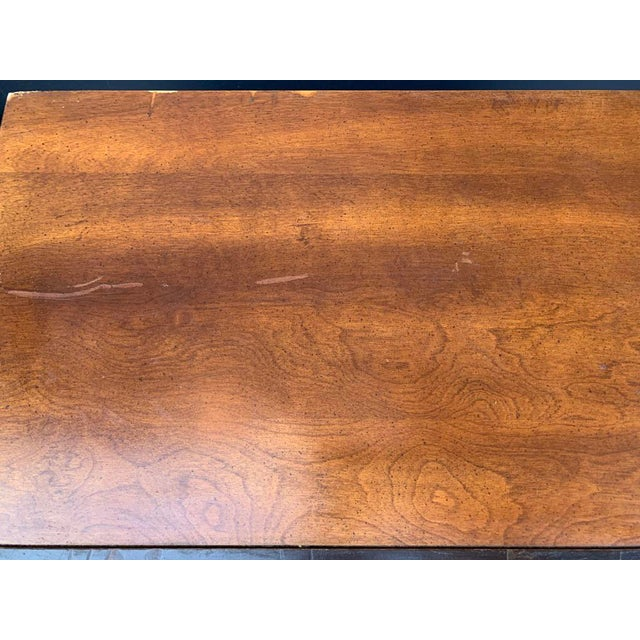 Bassett Furniture Bassett Asian Inspired Chinoiserie Nightstands - a Pair For Sale - Image 4 of 12
