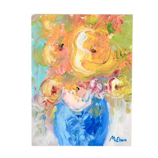 Contemporary Abstract Still Life Oil Painting For Sale