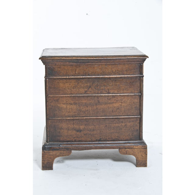 Vintage Oak Trunk For Sale - Image 4 of 10