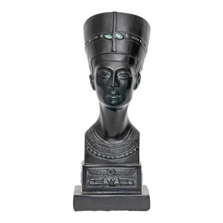 1920s Vintage Bust of Nefertiti For Sale