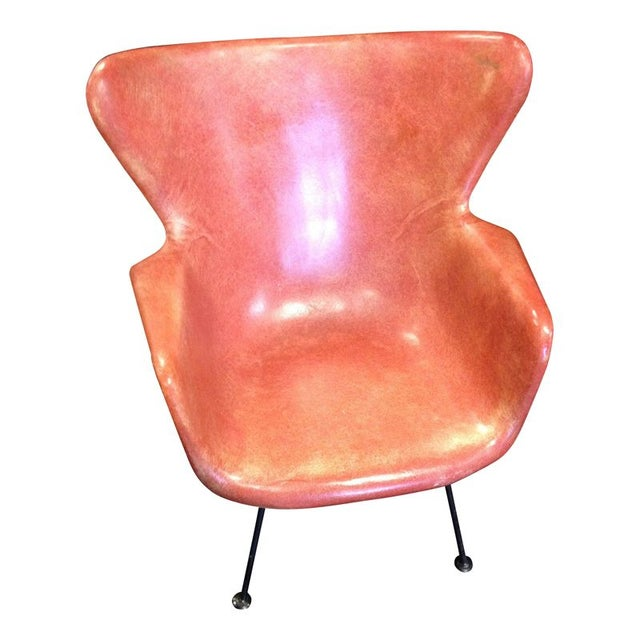 Lawrence Peabody Fiberglass Shell Chair For Sale