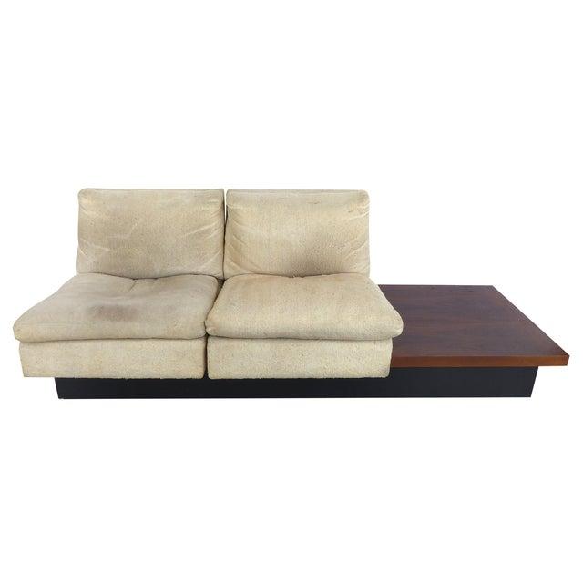 Pearsall-Style Modular Platform Sofa - Image 1 of 9
