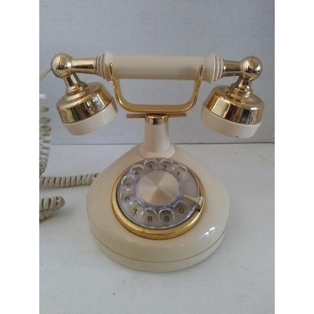 French 1970s Vintage French Style Telephone For Sale - Image 3 of 7