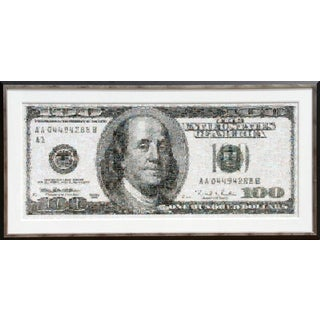 Robert Silvers, 100 Dollar Bill, 2003 For Sale
