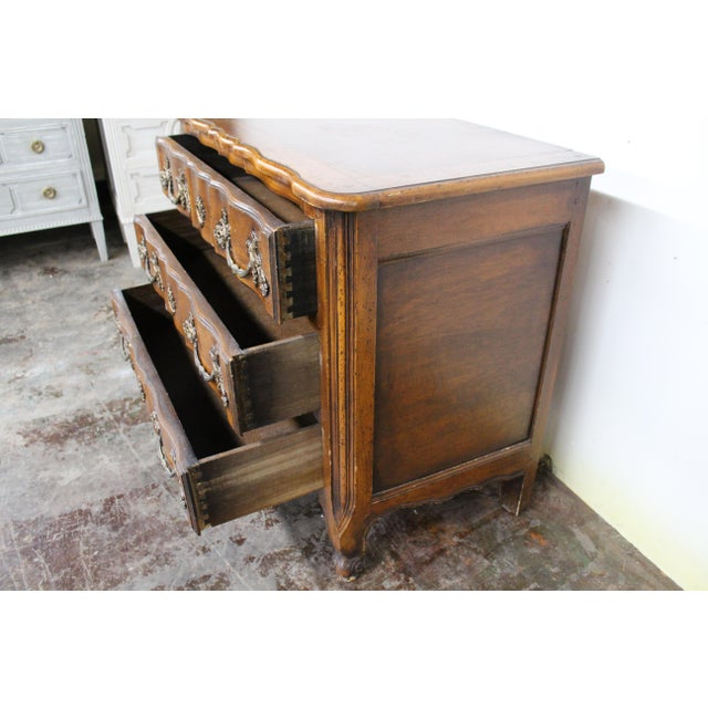 Metal 18th Century Régence Period Lyonnaise Commode Galbée For Sale - Image 7 of 9