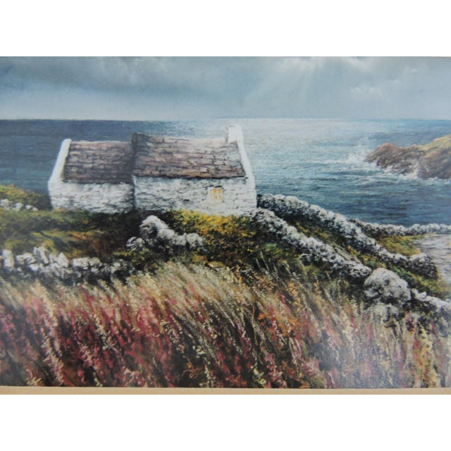 Glass Signed Philip Grey Lithographs of Ireland - a Pair of Prints For Sale - Image 7 of 10