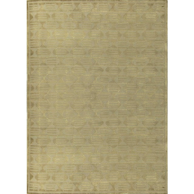 Contemporary Hand Woven Rug - 5'2 X 7'9 For Sale - Image 4 of 4