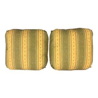 Osborne & Little Striped Down Custom Designer Pillows - A Pair
