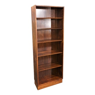 Vintage Danish Mid Century Hundevad Rosewood Bookcase - Mortensen For Sale