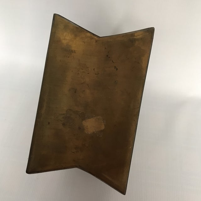 Small Vintage Brass Shopping Bag - Image 7 of 10