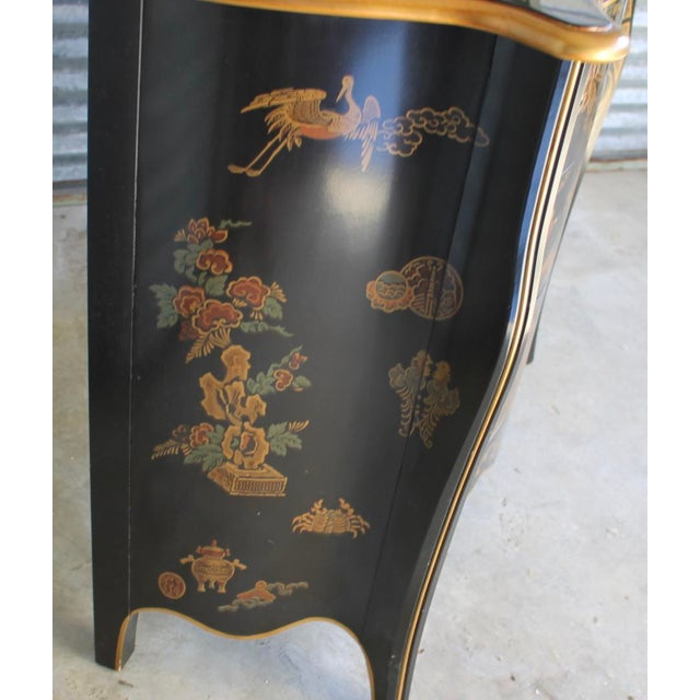 Asian Drexel Et Cetera Chinoiserie Chest of Drawers For Sale - Image 3 of 11