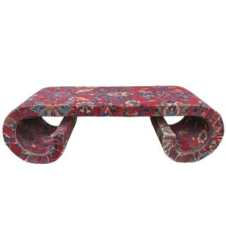 Mid-20th Century Low Scroll Table For Sale