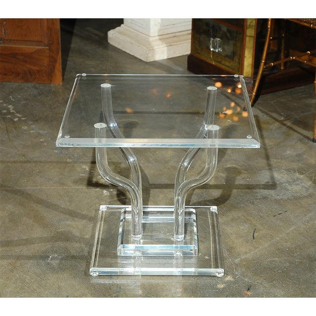 Lucite Occasional Table - Image 3 of 7