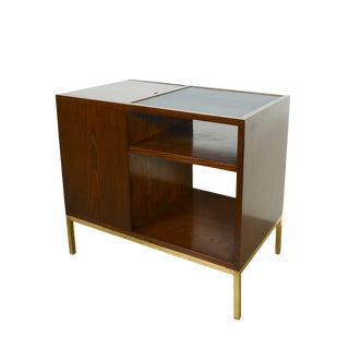 1950s Mid-Century Modern Edward Wormley Dunbar Bar Side Table For Sale