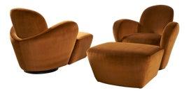 Image of Postmodern Club Chairs