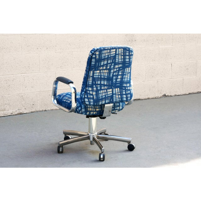 Steelcase Vintage SteelCase Executive Steno Armchair, Refinished For Sale - Image 4 of 7