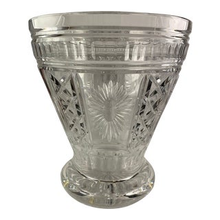Vintage Waterford Crystal Five Toasts Champagne Bucket For Sale
