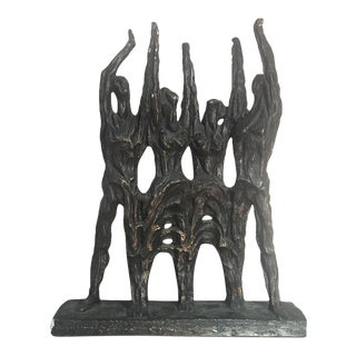 1969 Brutalist Sculpture by Svetoslav Djalazov ~ Bulgaria For Sale