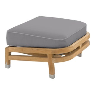 Linley Footrest in Moonlit Orchid For Sale