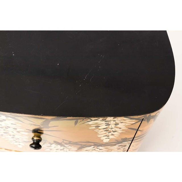 Pair of Gold Lacquered Chinese Chests For Sale - Image 10 of 13
