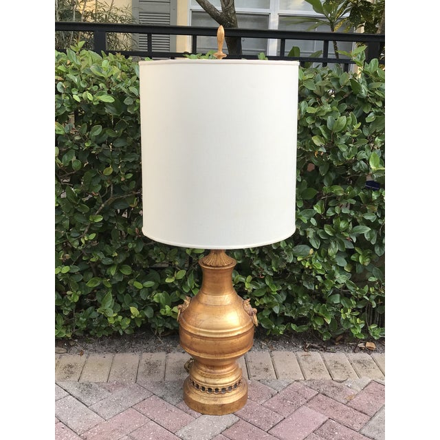Mid century asian inspired table lamps a pair chairish brass mid century asian inspired table lamps a pair for sale image 7 of aloadofball Choice Image