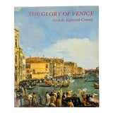 Image of The Glory of Venice Art in the Eighteenth Century Large Format Art Book For Sale