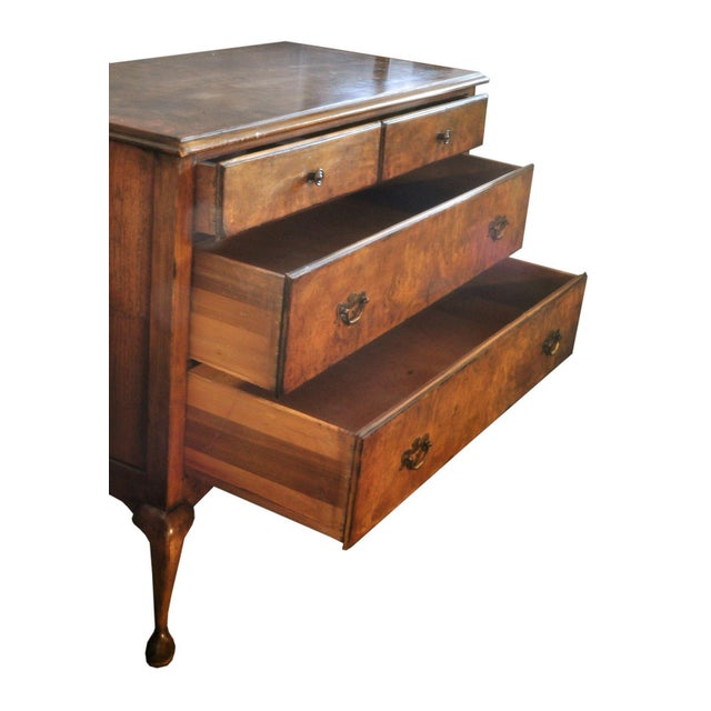 Queen Ann Burl Walnut Dresser - Image 3 of 4