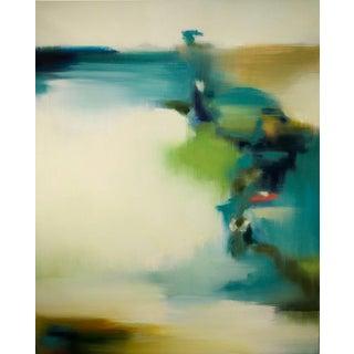 Liz Dexheimer Meditation Series Flow Abstract Landscape 2017 For Sale