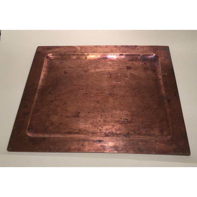 Arts and Crafts Handmade Copper Tray - Image 2 of 4
