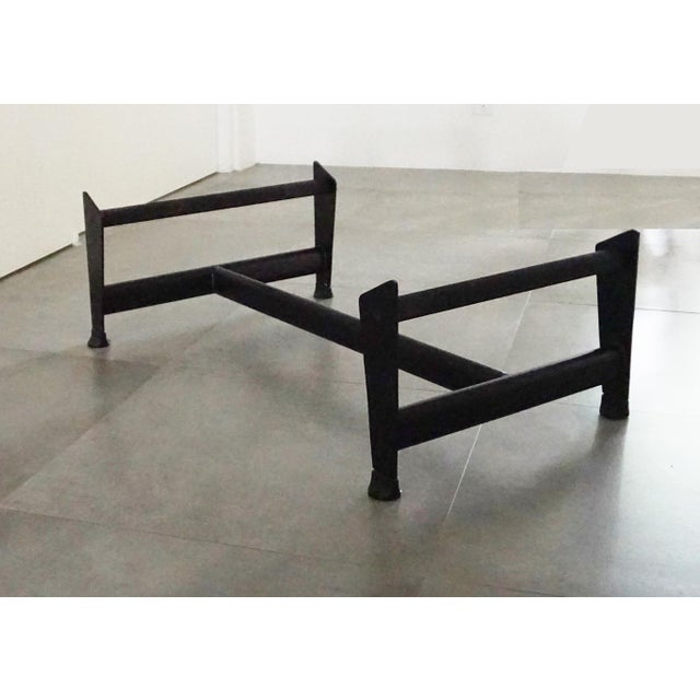 Vintage L'Corbusier Lc4 Style Cowhide Upholstered Chaise Lounge - Image 5 of 5