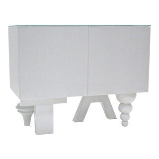 Modern Jamie Hayon White Sideboard For Sale