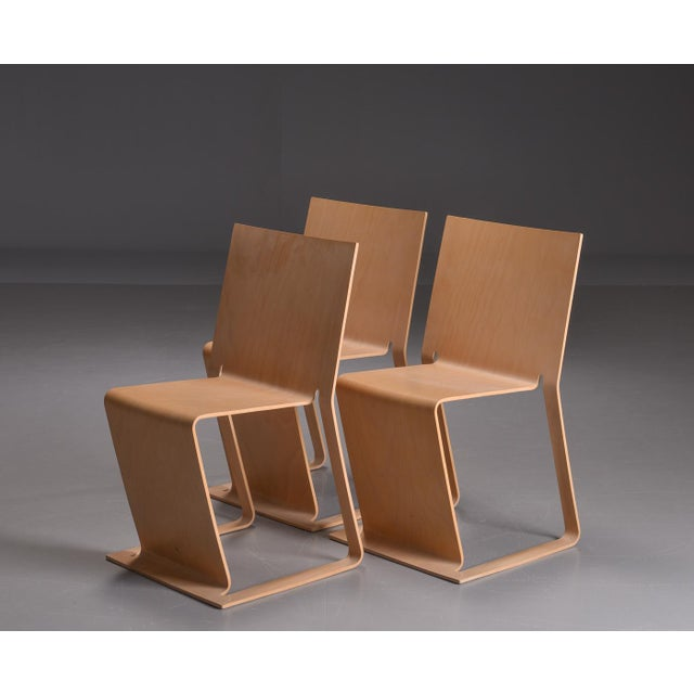 Swedish lForm Stacked Chairs - Set of 3 For Sale In Boston - Image 6 of 6