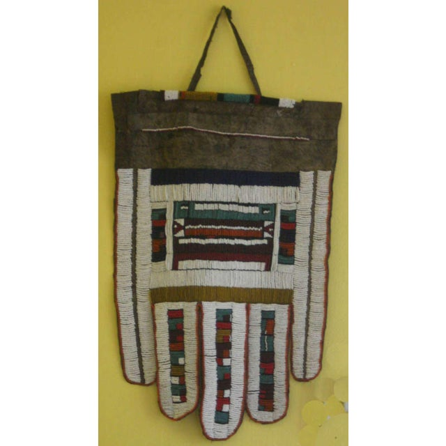 Antique African Wedding Apron From the Ndebele Tribe For Sale - Image 9 of 9