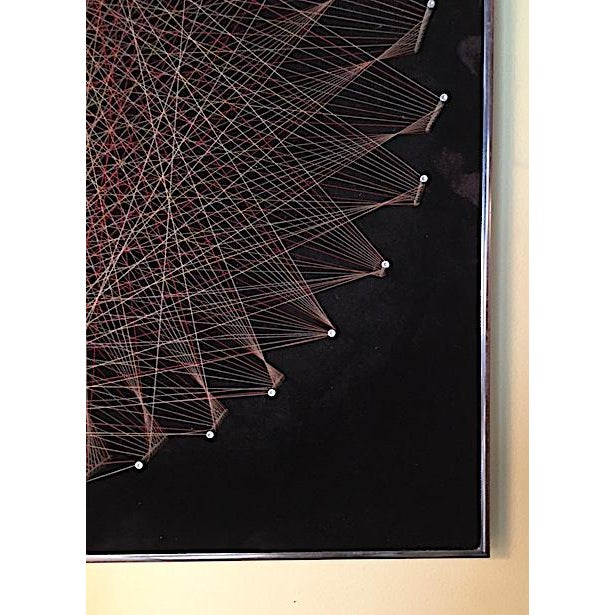 Mid-Century 1970s String Art - Image 5 of 6