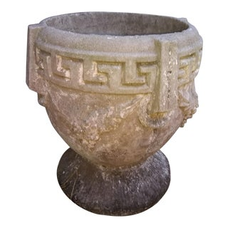 1920s Vintage Greek Style Concrete Planters For Sale