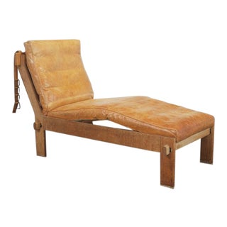 Rare Tage Poulsen Daybed or Chaise Lounge, Denmark, 1960s For Sale