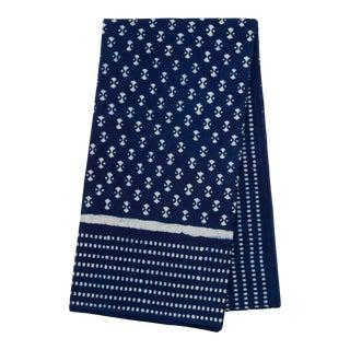 Nagina Indigo 8-Seat Table Tablecloth For Sale