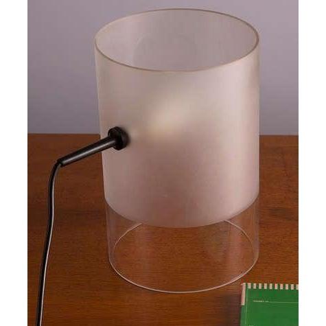 "Mid-Century Modern ""Fatua"" Table Lamp by Guido Rosati for Fontana Arte For Sale - Image 3 of 7"