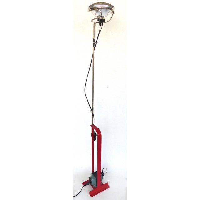 "Contemporary Achille & Pier Giacomo Castiglioni for Flos Lighting ""Toio"" Floor Lamp For Sale - Image 12 of 12"