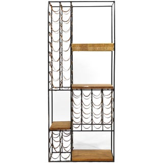 Arthur Umanoff Extra Large Wine Rack/ Shelving Unit For Sale