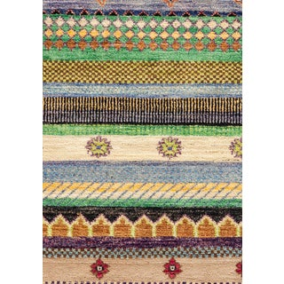 """Lori, Hand Knotted Area Rug - 6'1"""" X 8'10"""""""